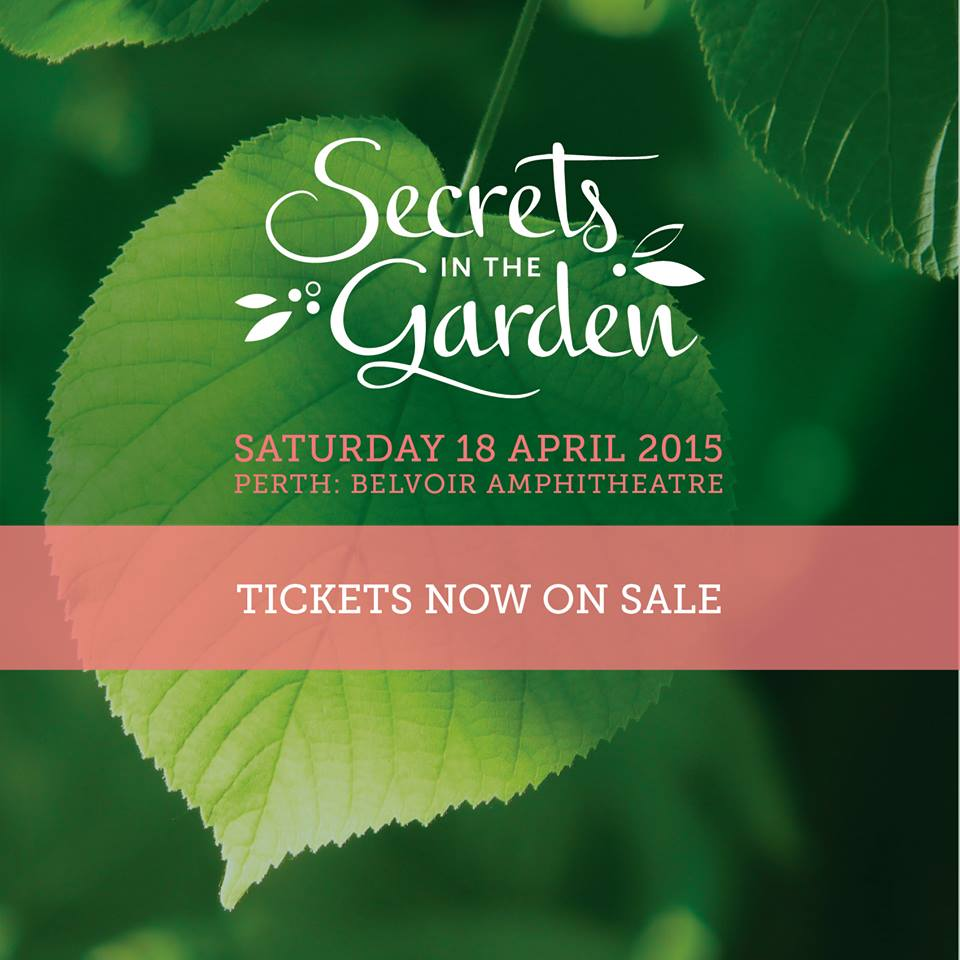 SECRETS IN THE GARDEN !